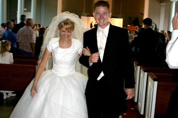 Mr. and Mrs. Peter Bradrick!