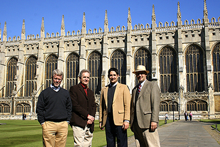 World travelers at the Chapel at King's College