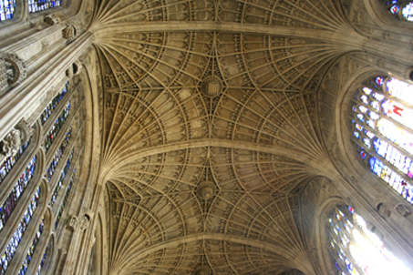 ... and the ornate ceiling