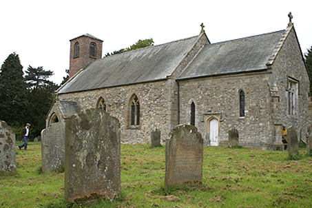 Eleventh century St. Mary's in Skirpenbeck