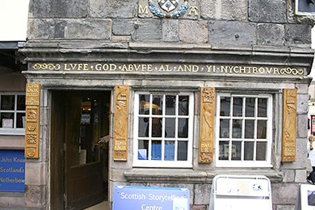 The Edinburgh home of beloved reformer John Knox