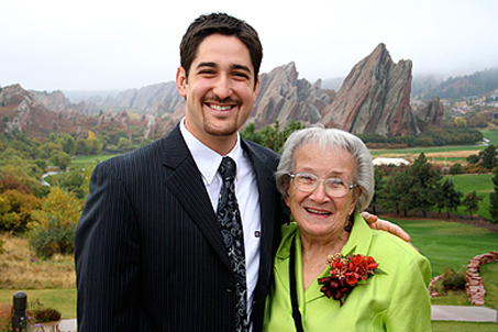 Grammy and me!