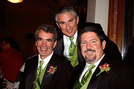 (L-R) Uncle Jim, Uncle Mike and Dad