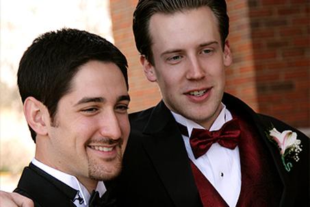 The Groom and Groomsman Isaac Botkin