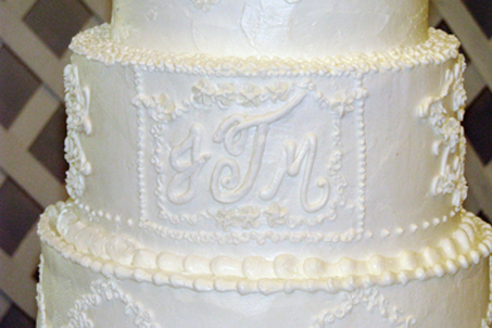A beautifully-crafted cake made by friend Trish Huie