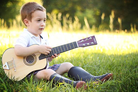 Calvin Serenades Us Outside