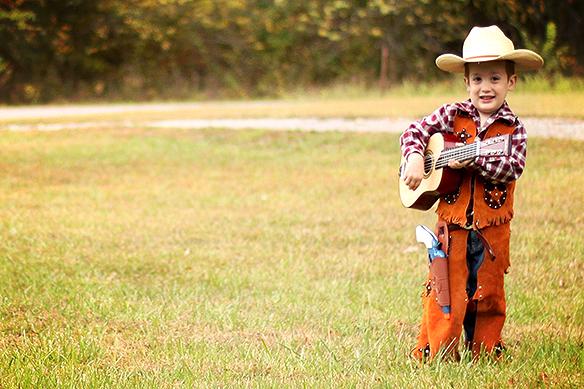 A Mighty Cute Cowboy, If I Do Say So M'self