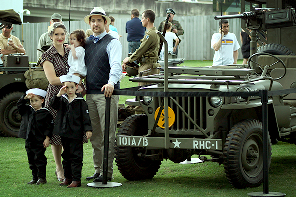 What a Fun Time! The Whole Family Got Into the Spirit of 1944