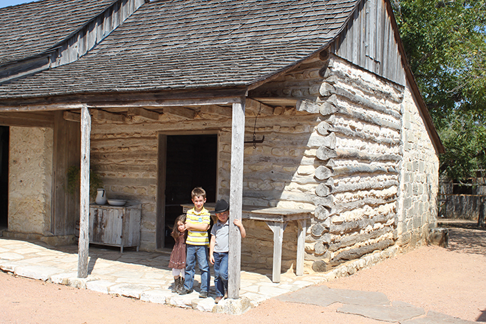 The original home built in 1869 by the Sauer family, immigrants from Germany