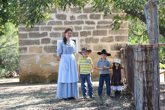 Farm staff operated in period garb (circa 1915) which made the visit more fun!