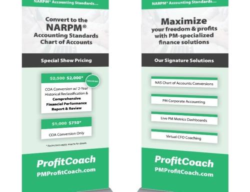 ProfitCoach Event Signage