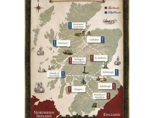 Scotland Tour Map