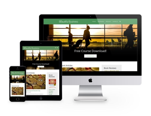 The Beautiful Business Web Site